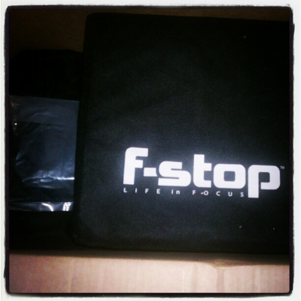 Oh yeah! Just got my new F-stop Loka bag