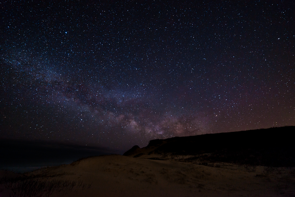 Milky Way From A Beach In Cape Cod